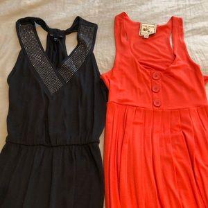 2 cute lightweight summer dresses